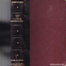 Libros antiguos: PRONTUARIO DE CLÍNICA PROPEDÉUTICA - LEÓN CORRAL Y MAESTRO - VALLADOLID 1923. Lote 130858704