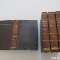 Libros antiguos: TRATADO COMPLETO DE PATOLOGÍA INTERNA Y TERAPÉUTICA. TOMOS I, II, III Y IV. CUATRO TOMOS. RM87515. Lote 130996000
