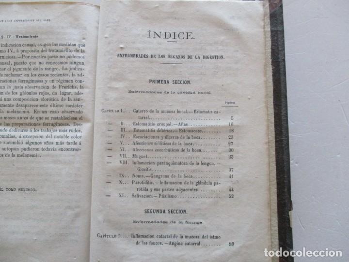 Libros antiguos: Tratado Completo de Patología Interna y Terapéutica. Tomos I, II, III y IV. CUATRO TOMOS. RM87515 - Foto 5 - 130996000