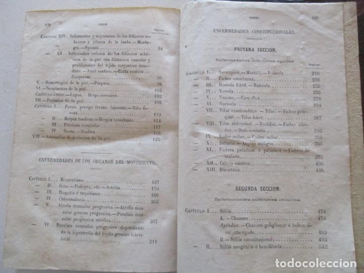 Libros antiguos: Tratado Completo de Patología Interna y Terapéutica. Tomos I, II, III y IV. CUATRO TOMOS. RM87515 - Foto 13 - 130996000