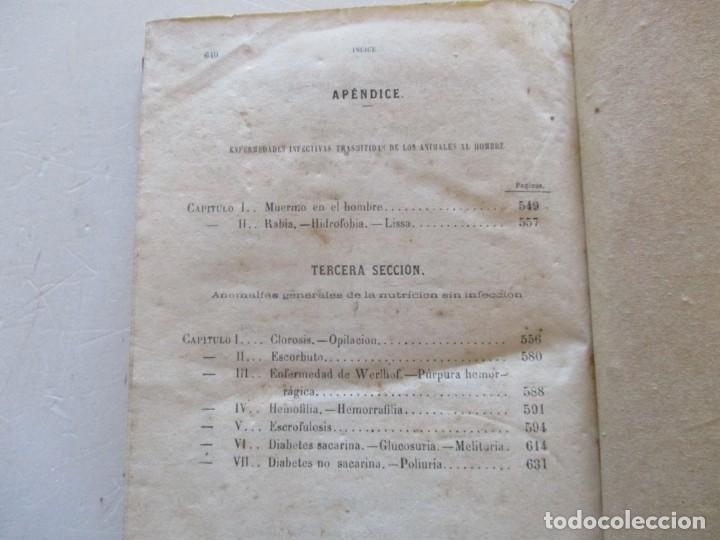 Libros antiguos: Tratado Completo de Patología Interna y Terapéutica. Tomos I, II, III y IV. CUATRO TOMOS. RM87515 - Foto 14 - 130996000
