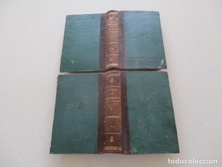 TRATADO DE TERAPÉUTICA MATERIA MÉDICA. TOMOS I Y II. DOS TOMOS. RM87523 (Libros Antiguos, Raros y Curiosos - Ciencias, Manuales y Oficios - Medicina, Farmacia y Salud)