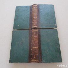 Libros antiguos: TRATADO DE TERAPÉUTICA MATERIA MÉDICA. TOMOS I Y II. DOS TOMOS. RM87523. Lote 130997380