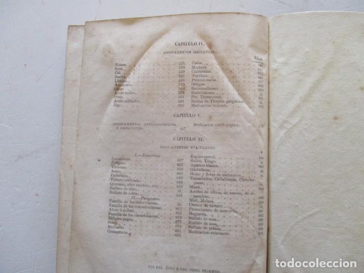 Libros antiguos: Tratado de Terapéutica Materia Médica. Tomos I y II. DOS TOMOS. RM87523 - Foto 4 - 130997380