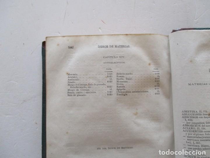 Libros antiguos: Tratado de Terapéutica Materia Médica. Tomos I y II. DOS TOMOS. RM87523 - Foto 8 - 130997380