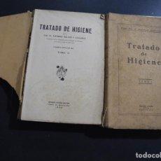Libros antiguos: TRATADO DE HIGIENE TOMO I Y II. DR. A. SALVAT. 1925. ED. MANUEL MARIN. Lote 131150568