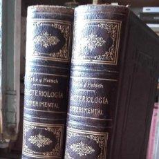 Libros antiguos: KOLLE / HETSCH: LA BACTERIOLOGIA EXPERIMENTAL Y LAS ENFERMEDADES INFECCIOSAS. 2 TOMOS, (CALLEJA).. Lote 131287035