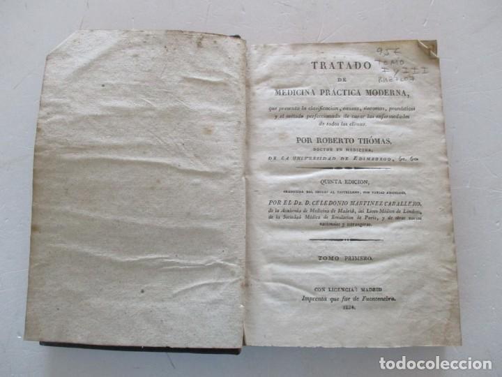 Libros antiguos: ROBERTO THÓMAS Tratado de Medicina Práctica Moderna...RM87607 - Foto 2 - 131290659