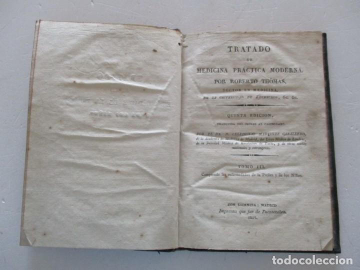 Libros antiguos: ROBERTO THÓMAS Tratado de Medicina Práctica Moderna...RM87607 - Foto 6 - 131290659