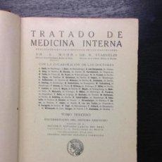 Libros antiguos: TRATADO DE MEDICINA INTERNA, MOHR, DR. L. Y STAEHELIN, DR. R., 1876 (TOMO 3). Lote 131334642