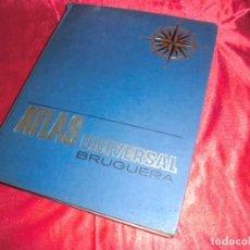 Libros antiguos: ATLAS UNIVERSAL,BRUGUERA. Lote 131464866