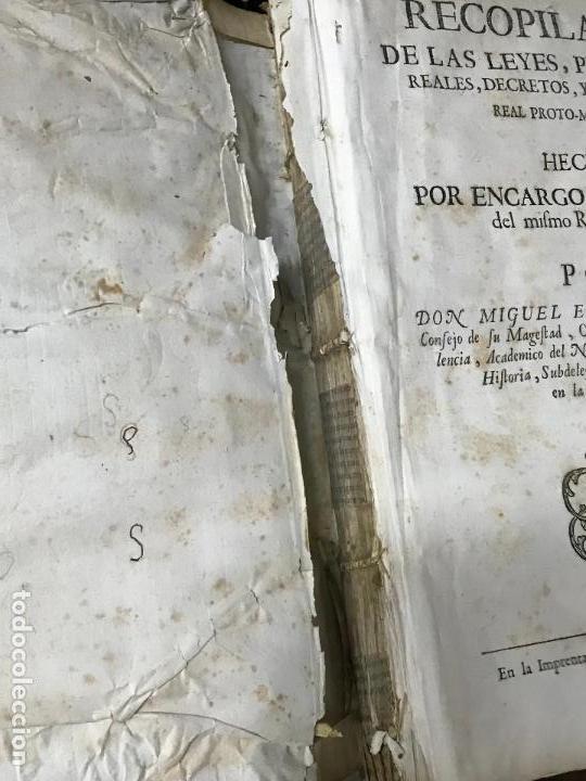 Libros antiguos: Recopilacion leyes pragmaticas reales decretos acuerdos del real proto-medicato Valencia 1751 - Foto 3 - 131508742