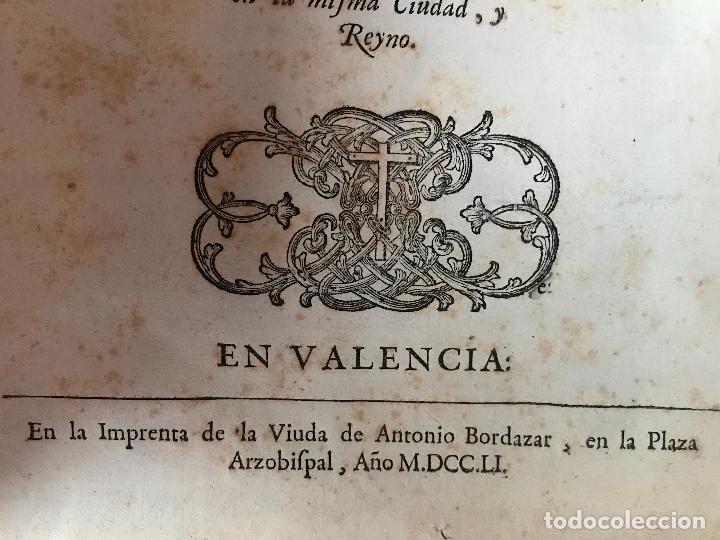 Libros antiguos: Recopilacion leyes pragmaticas reales decretos acuerdos del real proto-medicato Valencia 1751 - Foto 5 - 131508742