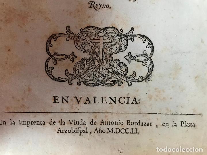 Libros antiguos: Recopilacion leyes pragmaticas reales decretos acuerdos del real proto-medicato Valencia 1751 - Foto 6 - 131508742