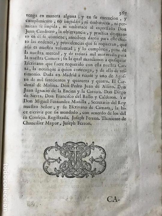 Libros antiguos: Recopilacion leyes pragmaticas reales decretos acuerdos del real proto-medicato Valencia 1751 - Foto 8 - 131508742