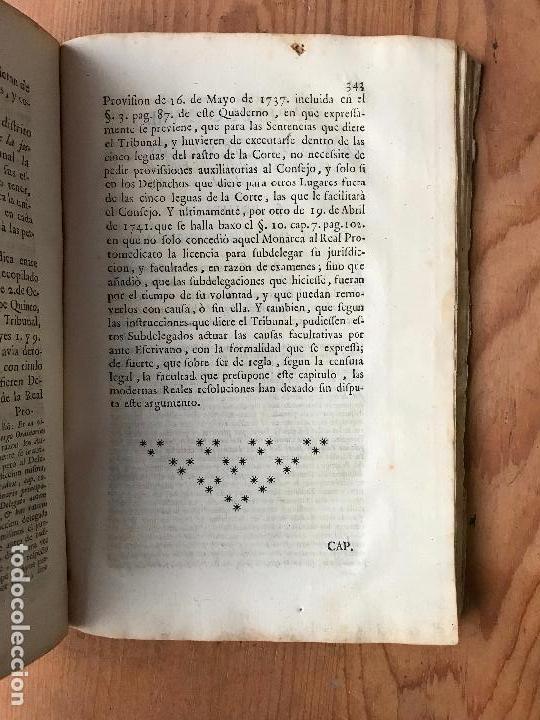 Libros antiguos: Recopilacion leyes pragmaticas reales decretos acuerdos del real proto-medicato Valencia 1751 - Foto 9 - 131508742