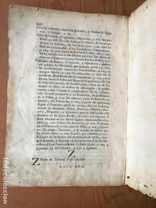 Libros antiguos: Recopilacion leyes pragmaticas reales decretos acuerdos del real proto-medicato Valencia 1751 - Foto 11 - 131508742