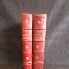 Libros antiguos: MANUAL DE MEDICINA INTERNA DR. J.V.MERING AÑO 1908. Lote 131615142