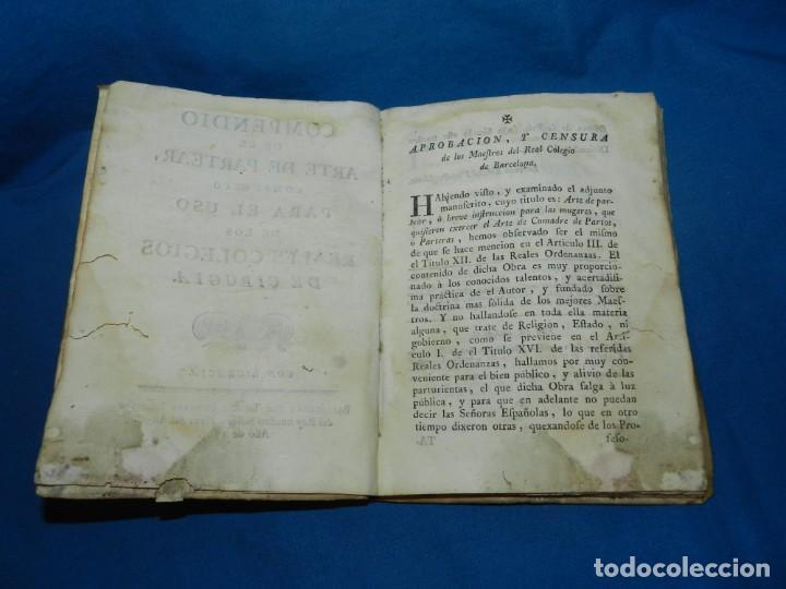 Libros antiguos: (MF) COMPENDIO DE EL ARTE DE PARTEAR COMPUESTO PARA EL USO DE LOS REALES COLEGIOS DE CIRUGIA 1765 - Foto 2 - 132372814