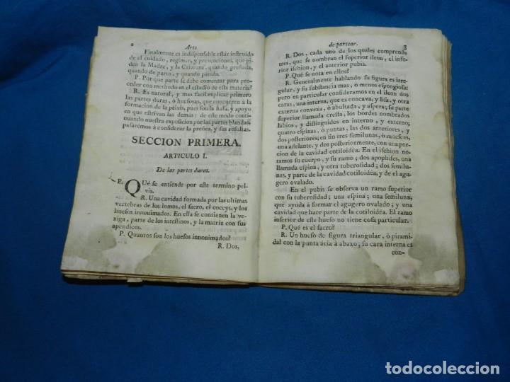 Libros antiguos: (MF) COMPENDIO DE EL ARTE DE PARTEAR COMPUESTO PARA EL USO DE LOS REALES COLEGIOS DE CIRUGIA 1765 - Foto 3 - 132372814
