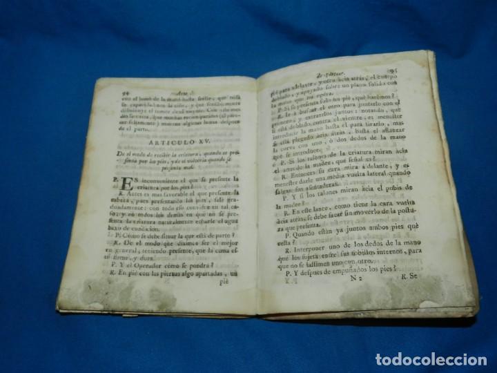 Libros antiguos: (MF) COMPENDIO DE EL ARTE DE PARTEAR COMPUESTO PARA EL USO DE LOS REALES COLEGIOS DE CIRUGIA 1765 - Foto 4 - 132372814