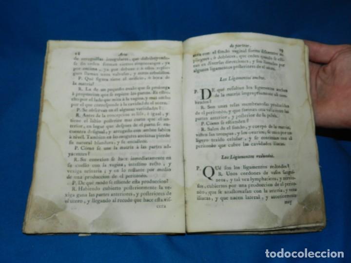 Libros antiguos: (MF) COMPENDIO DE EL ARTE DE PARTEAR COMPUESTO PARA EL USO DE LOS REALES COLEGIOS DE CIRUGIA 1765 - Foto 5 - 132372814