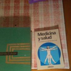 Libros antiguos: LOTE 2 LIBROS. Lote 132540334