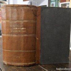 Libros antiguos: LA OFICINA DE FARMACIA DORVAULT. 10 SUPLEMENTOS DE 1901 AL 1910. MADRID.. Lote 132929902
