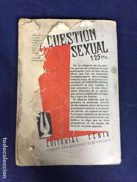 Libros antiguos: LA CUESTIÓN SEXUAL los misterios del sexo Paul Newhause tomo 2 ed Fenix - Foto 3 - 133137770