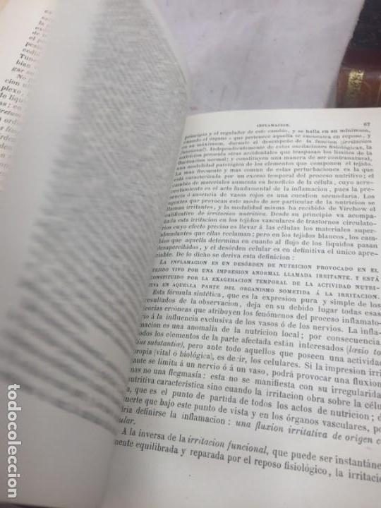 Libros antiguos: Tratado de Patología Interna S. Jaccoud traducción Joaquín Gassó 2 tomos 1875 grabados y láminas. - Foto 6 - 133376330