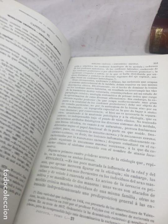 Libros antiguos: Tratado de Patología Interna S. Jaccoud traducción Joaquín Gassó 2 tomos 1875 grabados y láminas. - Foto 8 - 133376330