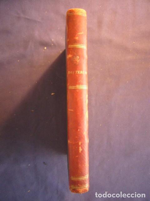 Libros antiguos: F. VIDAL SOLARES: - ESTUDIO SOBRE LA DIFTERIA;... CONVENIENCIA DE LA TRAQUEOTOMÍA - (PARIS, 1879) - Foto 2 - 133458674