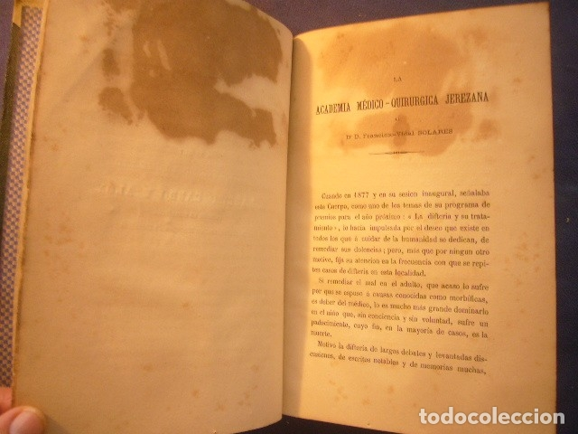 Libros antiguos: F. VIDAL SOLARES: - ESTUDIO SOBRE LA DIFTERIA;... CONVENIENCIA DE LA TRAQUEOTOMÍA - (PARIS, 1879) - Foto 4 - 133458674