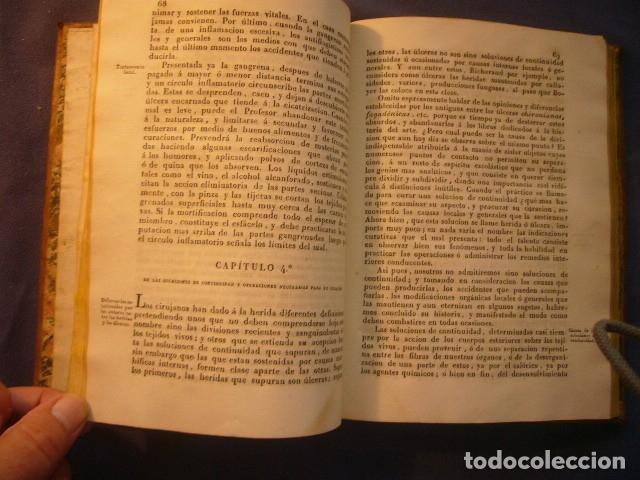 Libros antiguos: L. J. BEGIN: - NUEVOS ELEMENTOS DE CIRUGIA Y DE MEDICINA OPERATORIA - (TOMO I) (BARCELONA, 1827) - Foto 4 - 133459210