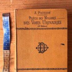 Libros antiguos: PRECIS DES MALADIES DES VOIES URINAIRES. Lote 133739522