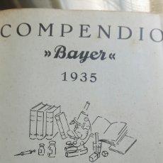 Libros antiguos: COMPENDIO BAYER AÑO 1935. Lote 134018238