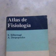 Libros antiguos: ATLAS DE FISIOLOGÍA. Lote 135359150