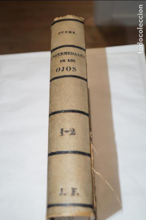 TRATADO DE ENFERMEDADES DE LOS OJOS. E. FUCHS. 1893 (Libros Antiguos, Raros y Curiosos - Ciencias, Manuales y Oficios - Medicina, Farmacia y Salud)