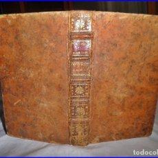 Libros antiguos: AÑO 1746: LIBRO DE MEDICINA DEL SIGLO XVIII. ENFERMEDADES Y REMEDIOS.. Lote 136116370