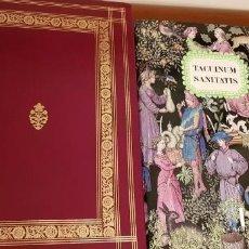 Libros antiguos: TACUINUM SANITATIS. CÓDICE ÁRABE SIGLO XV. MEDICINA. FACSIMIL , MOLEIRO.. Lote 136977922