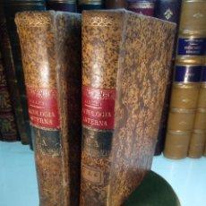 Libros antiguos: MANUAL DE PATOLOGÍA INTERNA - F.J. COLLET - 2 TOMOS - JOSÉ ESPASA - BARCELONA - CIRCA 1920 -. Lote 137877718
