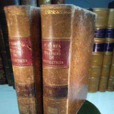Libros antiguos: TRATADO DE OBSTETRICIA - DOCTOR F. DE P. CAMPÁ - 2 TOMOS - L.DE PASCUAL AGUILAR - VALENCIA - 1885 -. Lote 137879202