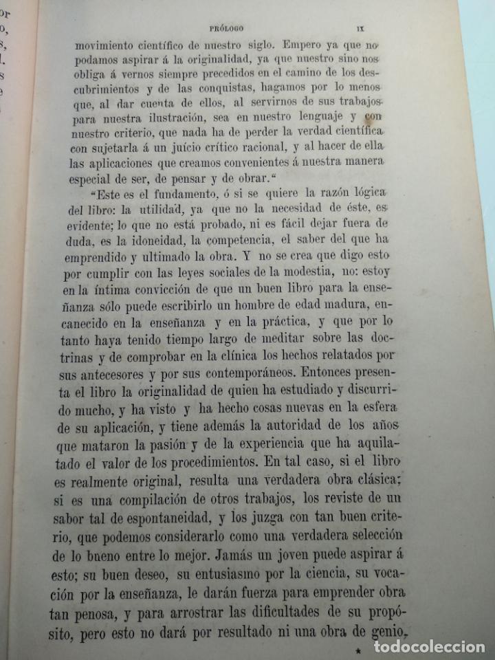 Libros antiguos: TRATADO DE OBSTETRICIA - DOCTOR F. DE P. CAMPÁ - 2 TOMOS - L.DE PASCUAL AGUILAR - VALENCIA - 1885 - - Foto 6 - 137879202
