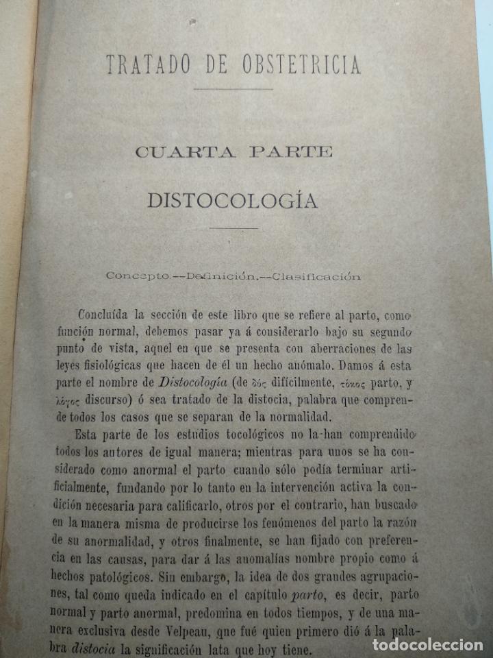 Libros antiguos: TRATADO DE OBSTETRICIA - DOCTOR F. DE P. CAMPÁ - 2 TOMOS - L.DE PASCUAL AGUILAR - VALENCIA - 1885 - - Foto 20 - 137879202
