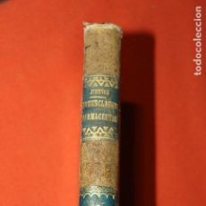 Libros antiguos: NOMENCLATURA FACMACEUTICA Y SINONIMIA, POR MANUEL JIMENEZ, MADRID 1826, 2º TOMO. Lote 137970118