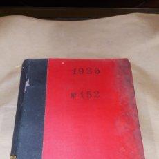 Libros antiguos: REVISTA HIGIENE Y SANIDAD PECUARIAS GORDÓN ORDAS TOMO XV AÑO 1925. Lote 139026330
