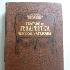 Libros antiguos: TRATADO DE TERAPÉUTICA GENERAL Y APLICADA. 1914. TOMO III. Lote 140385690
