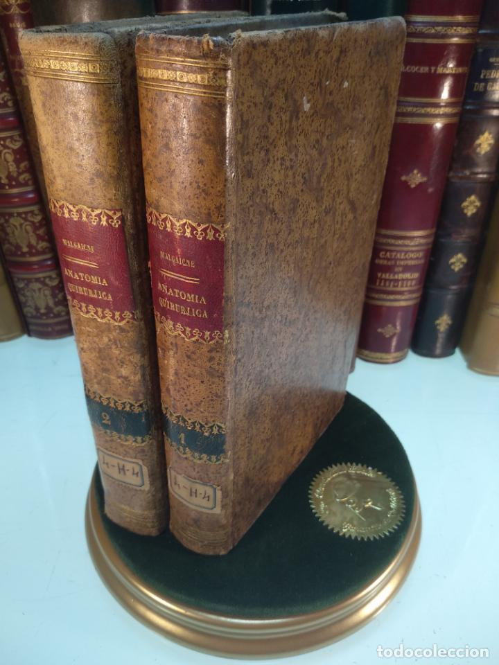 TRATADO DE ANATOMÍA QUIRÚRJICA Y DE CIRUJÍA ESPERIMENTAL - J. F. MALGAIGNE - MADRID - 1861 - (Libros Antiguos, Raros y Curiosos - Ciencias, Manuales y Oficios - Medicina, Farmacia y Salud)