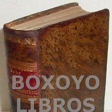 Libros antiguos: JAHR, G. H. G. NUEVO MANUAL DE MEDINA HOMEOPÁTICA. MATERIA MÉDICA. TOMOS I Y II. TRADUCCIÓN DE PEDRO. Lote 139780401