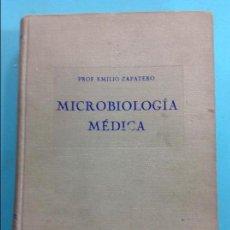 Libros antiguos: MICROBIOLOGÍA MÉDICA - PROF. EMILIO ZAPATERO. Lote 141340982